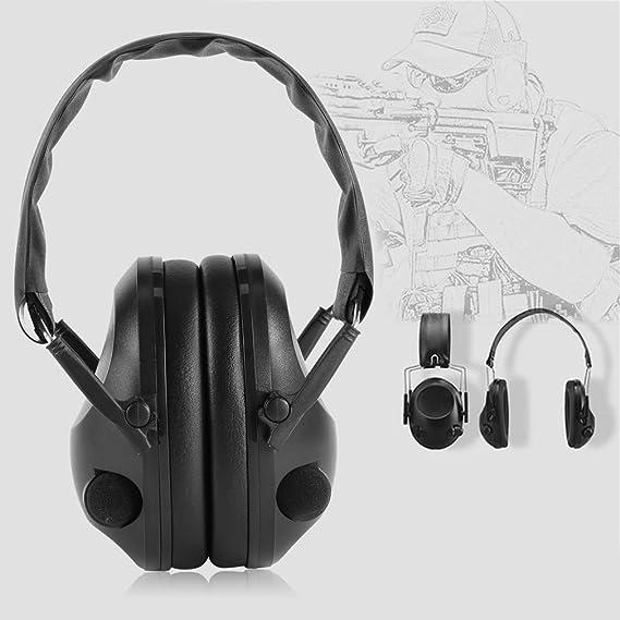 Sookg - Auriculares tácticos de tiro tácticos para caza y deporte, color negro: Amazon.es: Bricolaje y herramientas