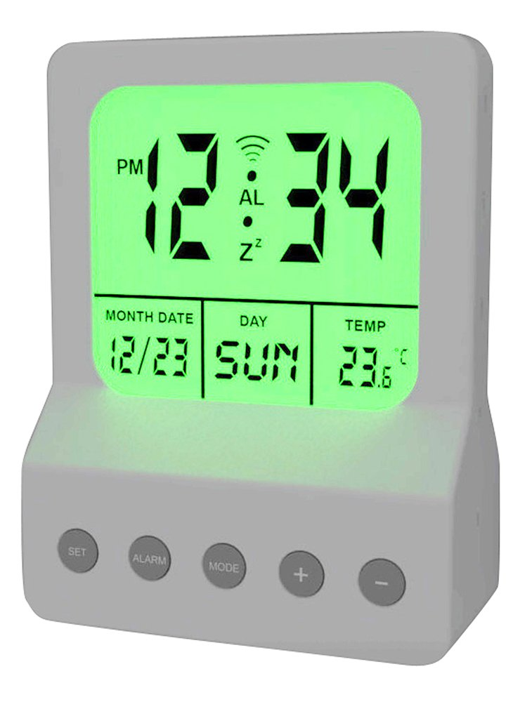 Meridian electric 10260 digital alarm clock with led night light meridian electric 10260 digital alarm clock with led night light white meridian night light amazon mozeypictures Gallery