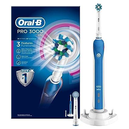 Oral-B Pro 3000 - Cepillo de dientes eléctrico de rotación 0420febde529