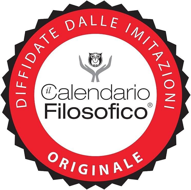 L/'originale Il Calendario Filosofico 2020 con supporto cartone formato A7