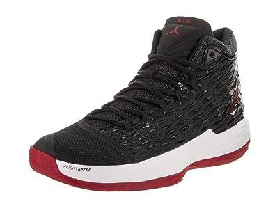 Nike Jordan Men s Jordan Melo M13 Black Gym Red White Anthracite Basketball  Shoe 11 Men 5967188db