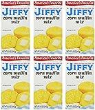 jiffy baking - Jiffy Corn Muffin Mix - 6 ct