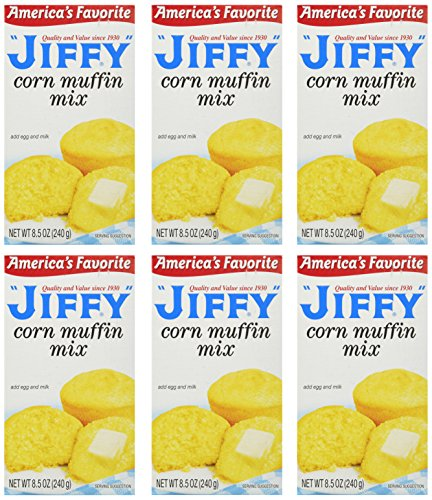 Jiffy Corn Muffin Mix - 6 ct
