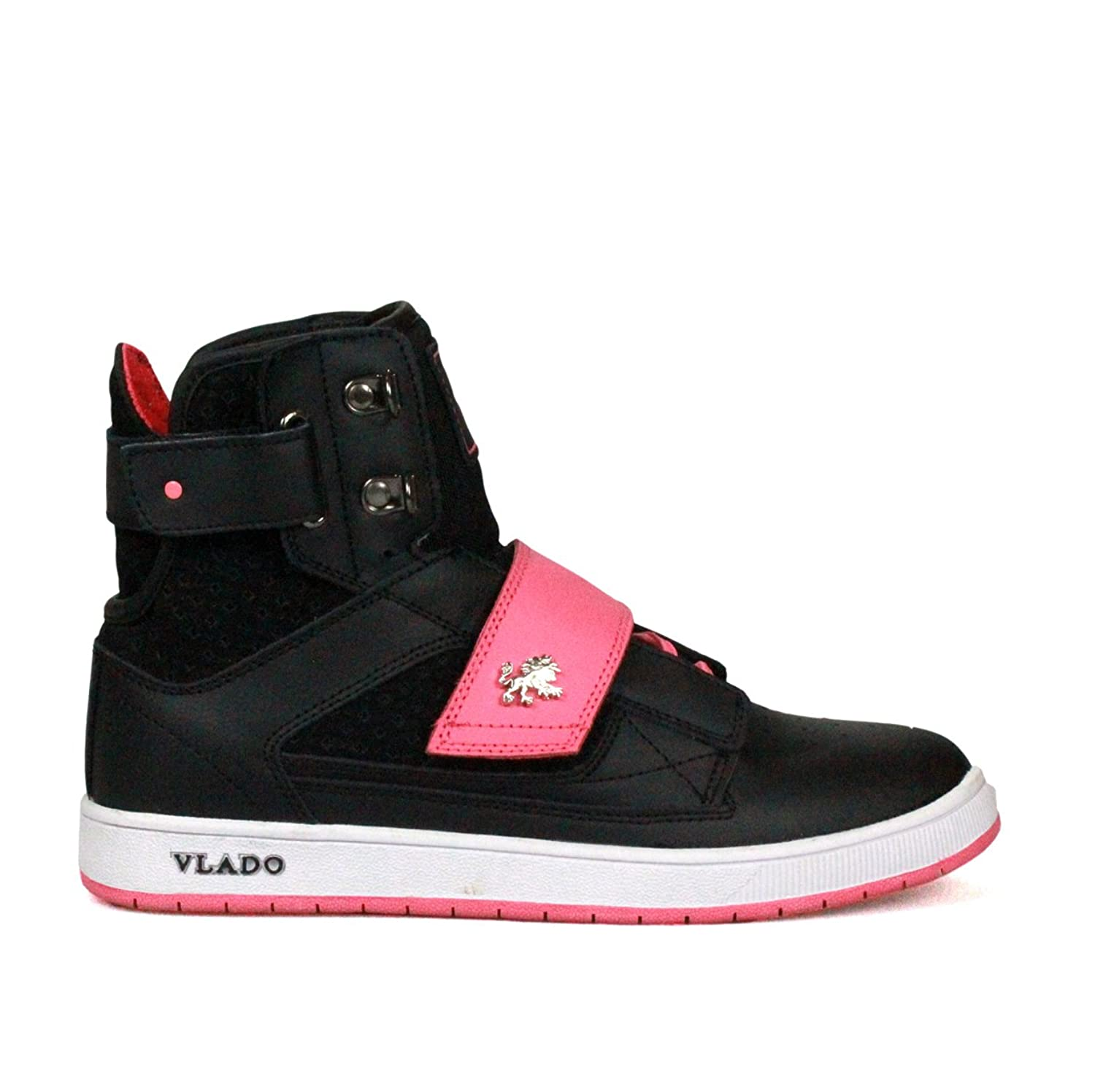 VLADO FOOTWEAR - ATLAS - Baskets montantes femme - Black Pink - 40:  Amazon.fr: Chaussures et Sacs