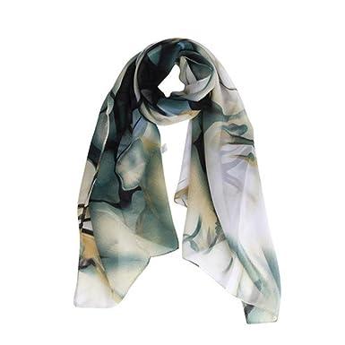 Echarpes et foulards Amlaiworld Femmes Mode Femmes Long Wrap Châle en Mousseline  Écharpe Elégante écharpe Pashmina (160   70CM) (160   70CM, ... 27aaf54ffd8