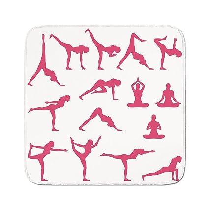 Amazon.com: Cozy Seat Protector Pads Cushion Area Rug,Yoga ...