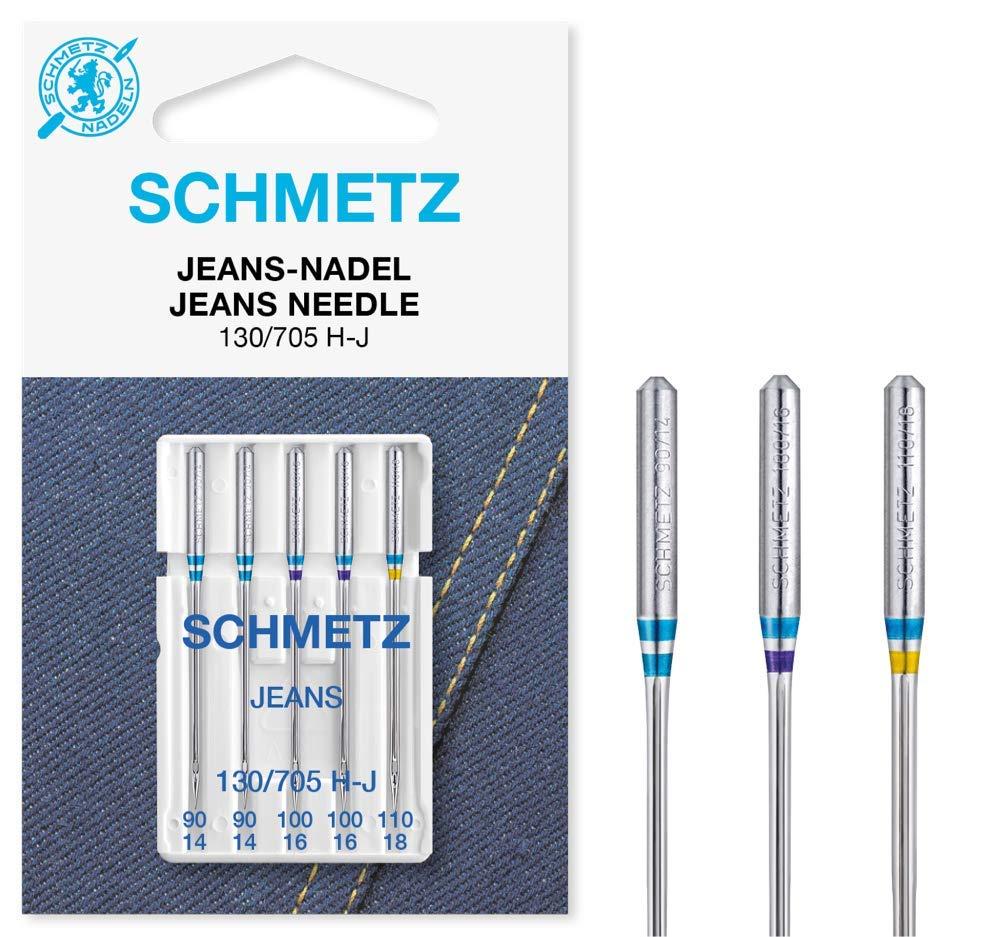 Universal 70-90 // 2x Jeans 110 20 Schmetz Nadeln für Nähmaschine