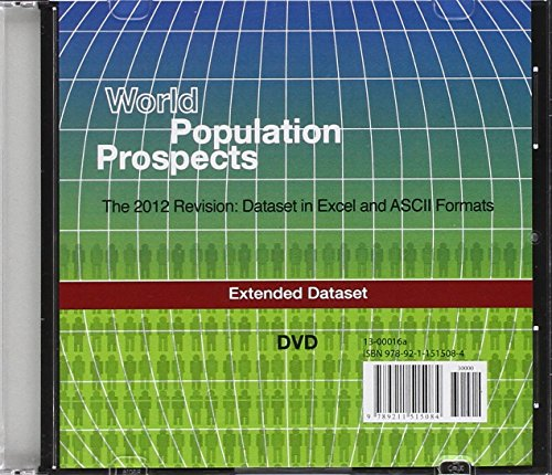 World Population Prospects (DVD): The 2012 Revision - Extended Dataset in Excel and ASCII Formats (Population Studies) by United Nations