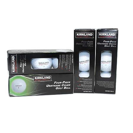 Kirkland Signature Golf Balls – One Dozen – Four Piece Urethane Cover Golf Ball