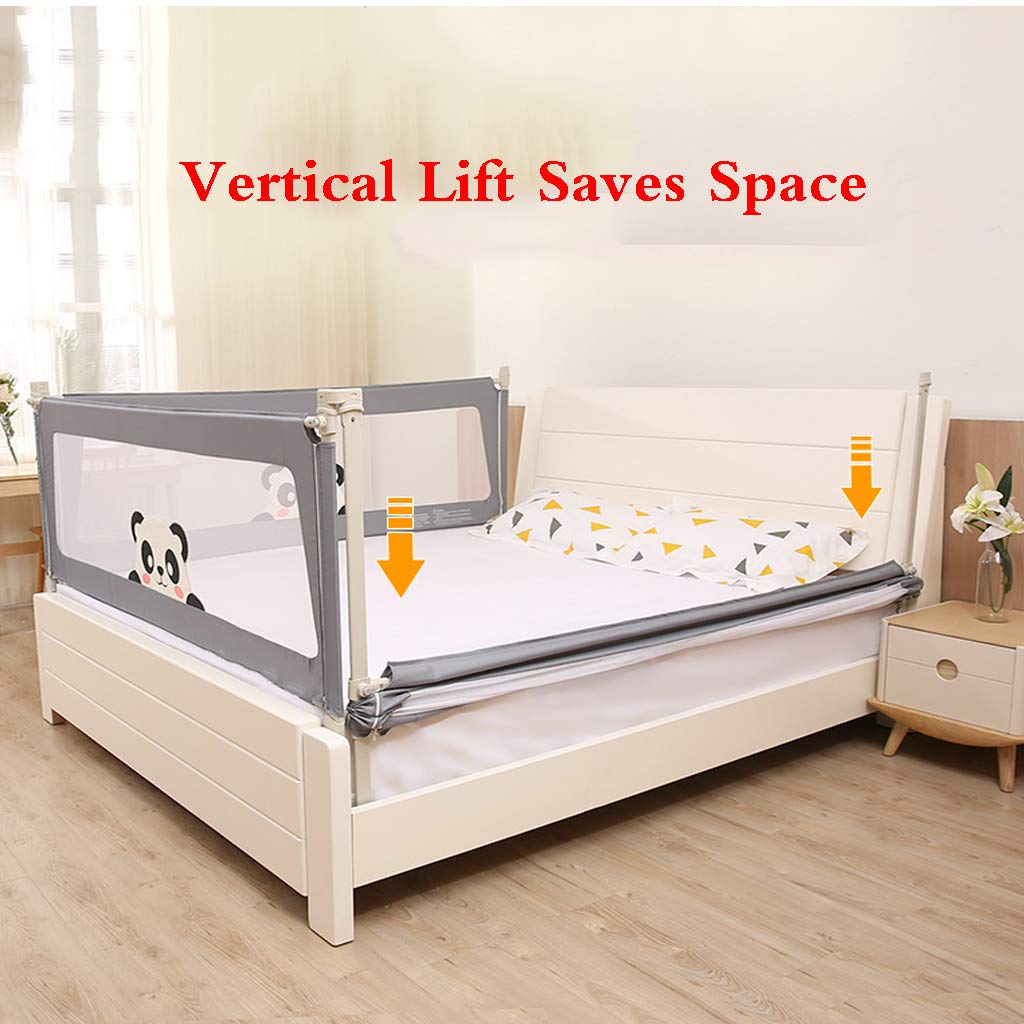 SONGTING Guardrail Kids Safety Bed Rail Baby Bed Rail Foldable Easy Fit Safety Portable Foldable Bed Rail Bed Guard Protection Safety Infant Child by SONGTING Guardrail (Image #5)