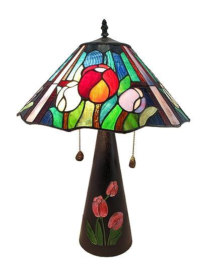 Amazon.com: Edición limitada Vidrieras Oriental Tulip ...