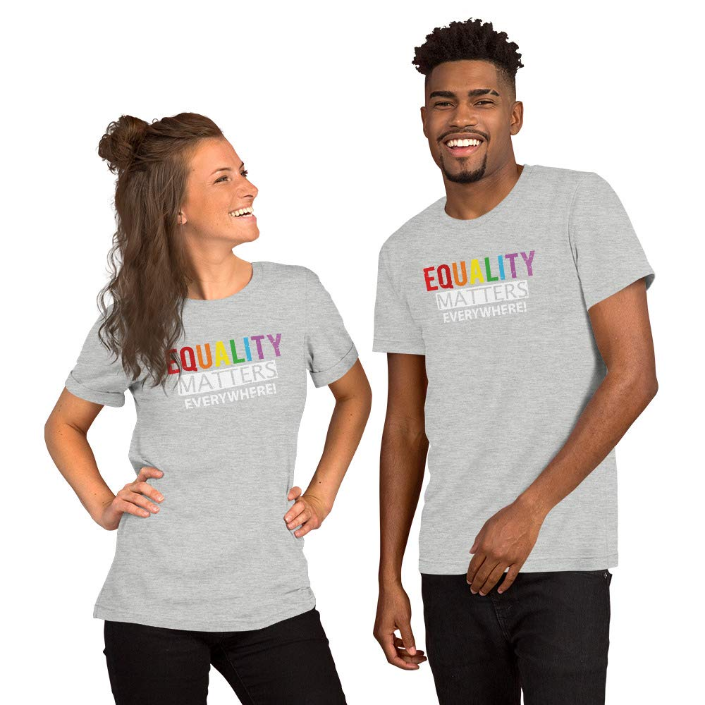 Equality T-Shirt Equal Rights Liberty Justice Tolerance and Compassion Rainbow Shirts