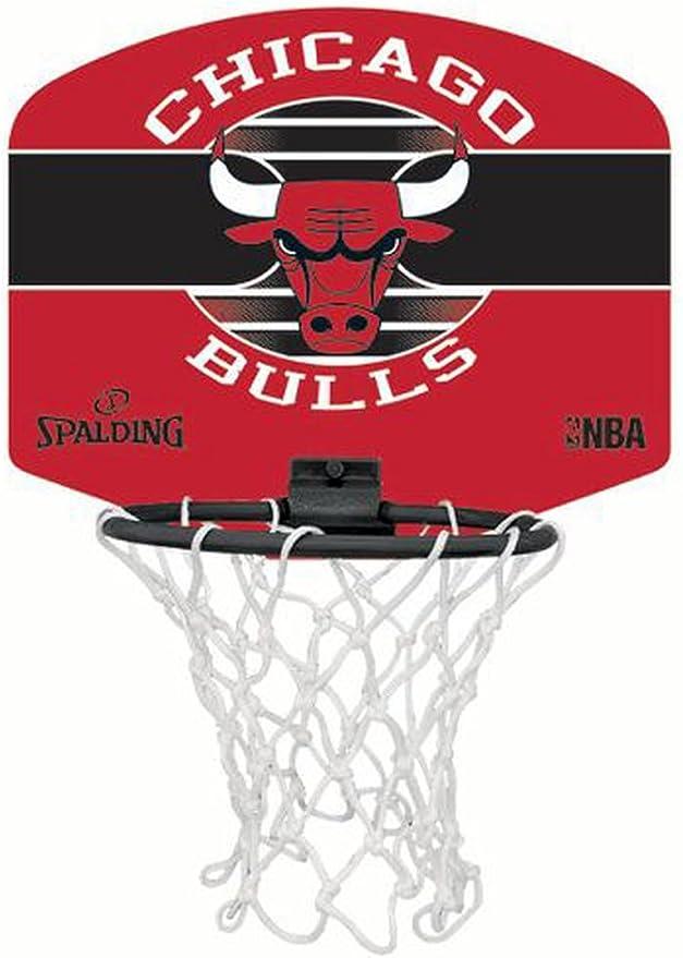 Spalding Chicago Bulls - Juego de mini canasta de baloncesto y ...