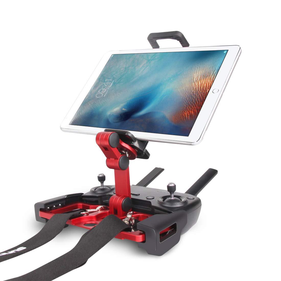 Petforu Tablet Bracket Aluminium Alloy Folding Remote Control Phone iPad Holder for DJI Mavic Air/Spark /Mavic 2 Pro/Mavic 2 Zoom