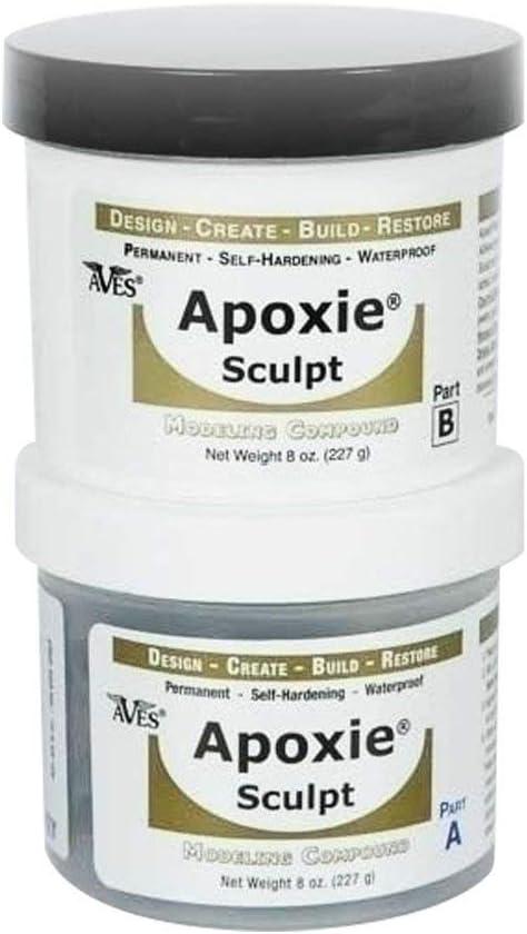 B000V58DS0 Apoxie Sculpt - 2 Part Modeling Compound (A & B) - 1 Pound, Natural 61d35oMfBPL