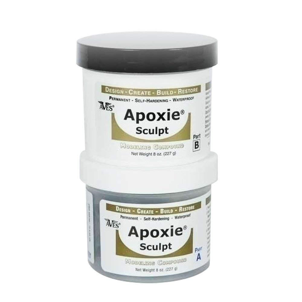 Apoxie Sculpt 1 lb. Natural, 2 part modeling compound (A & B)