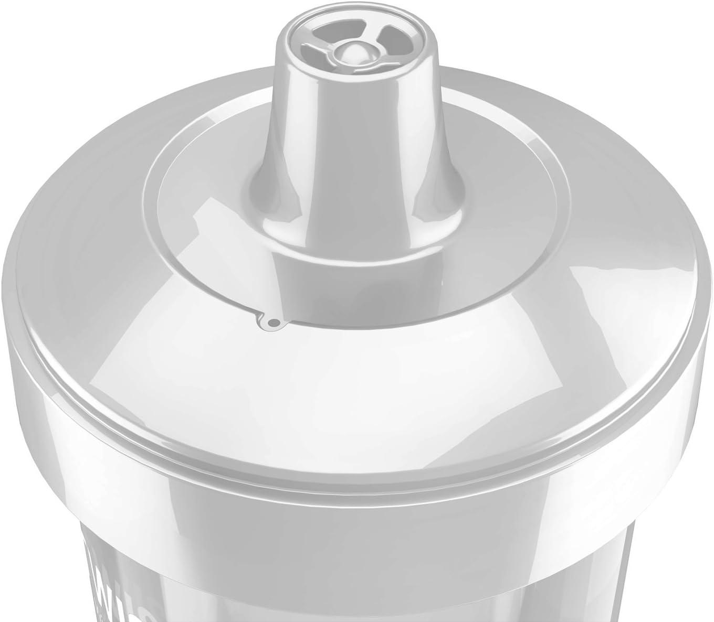 360ml Grey Twistshake Kid Cup Pastel 12+m