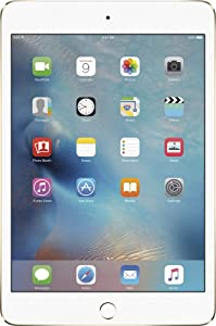 Apple iPad Mini 4, 64GB, Gold - WiFi (Renewed)