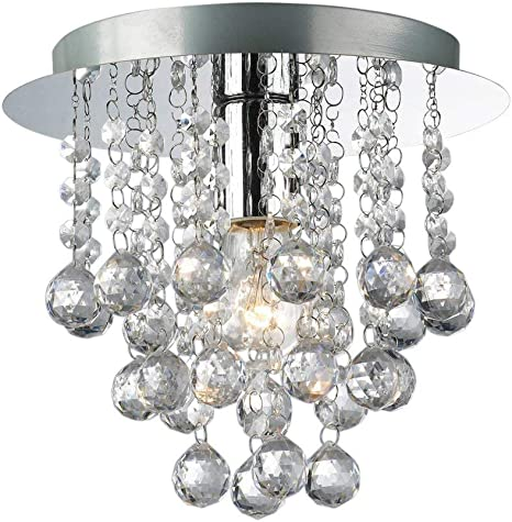 Palazzo 5 Light Round Acrylic Flush Chandelier from Lights 4