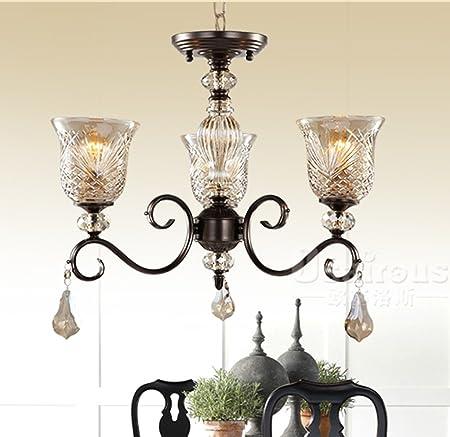 Lampadari Per Soggiorni Classici.Lightsei Lampadari Classici Retro Soggiorno Studio Della