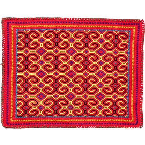 (Shamans Market Shipibo Embroidery Cloth - Medium)