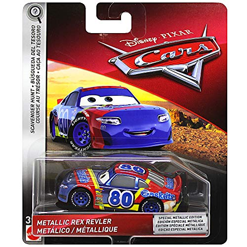 - Metallic Rex Revler Scavenger Hunt Diecast Car 1:55 Scale