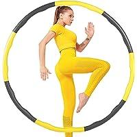 VAGAV Fitness Oefening Gewogen Hula Hoop, Verlies Gewicht Snel door Leuke Manier om Workout, Vet Brandend Gezond Model…