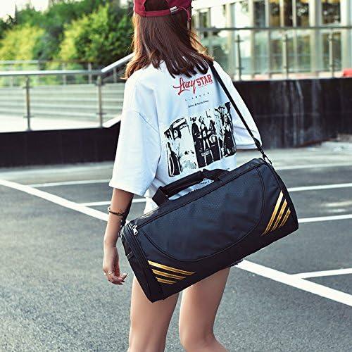 Travel Duffle Bag,AMLAND Crossbody Bag Foldable Oxford Purse Overnight Weekend Handbag Luggage Gym Sports For Women