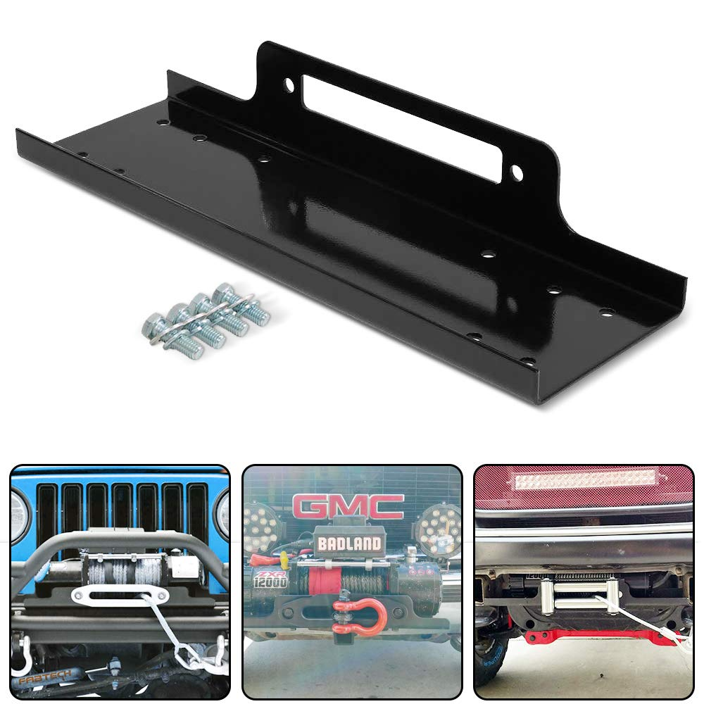 RUGCEL WINCH 23'' Cradle Winch Mounting Plate, Winch Mount Recovery Winches by RUGCEL WINCH
