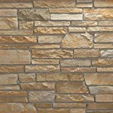 Veneerstone Pacific Ledge Stone Cascade Flats 10 sq. ft. Handy Pack Manufactured Stone