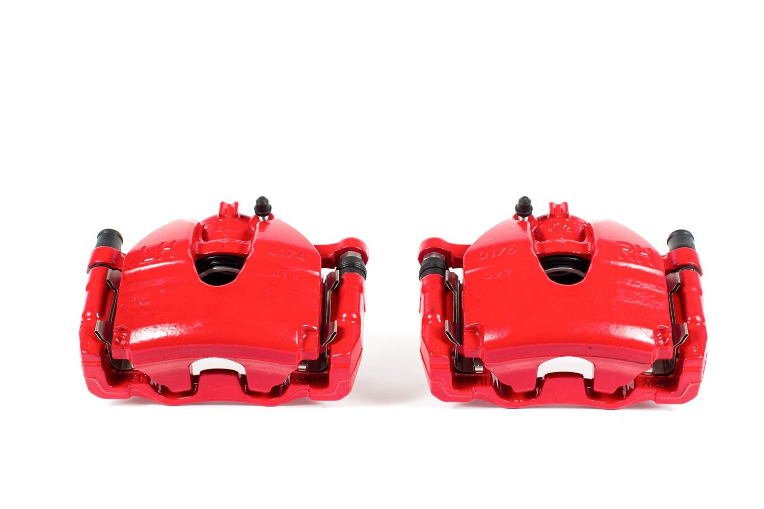 Power Stop S3702 Red Powder-Coated Performance Caliper
