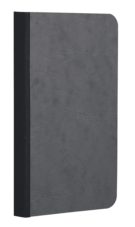 Clairefontaine 791464C Quaderno Dorso in Tessuto, 29.5 x 21 x 1.1 cm, Blu C Rhodia Jardinage