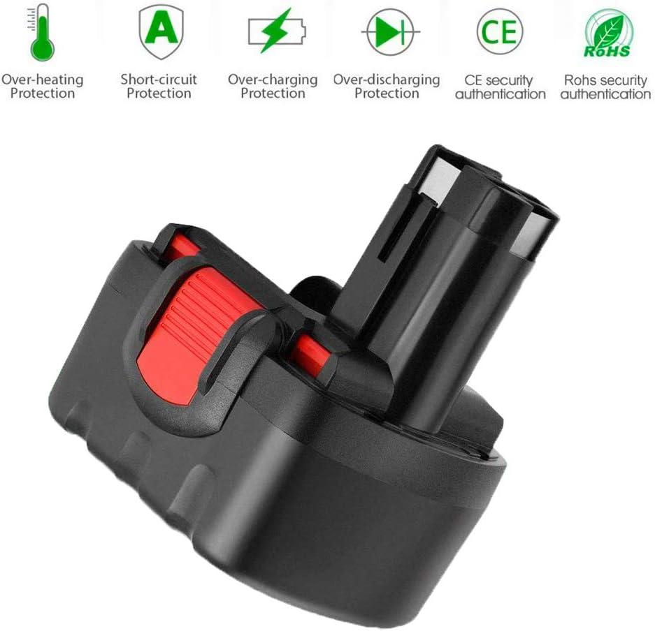 Hochstern 14.4V 3000mAh Ni-Mh Replacement for Bosch Battery BAT038 BAT040 BAT041 BAT140 BAT159 2607335534 2607335275 2607335678 2607335686 2607335711