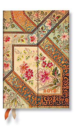 Agenda Paperblanks - filigrana floral marfil - Mini - 100 ...