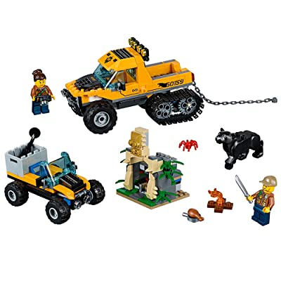 LEGO City Jungle Explorers Jungle Halftrack Mission 60159 Building Kit (378 Piece): Toys & Games