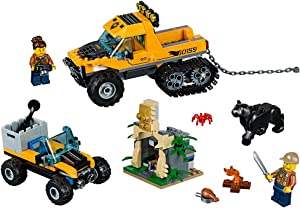LEGO City Jungle Explorers Jungle Halftrack Mission 60159 Building Kit (378 Piece)