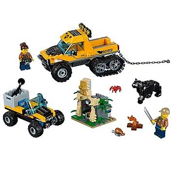 LEGO City Explorers Jungle Halftrack Mission Building Kit 60159 (378 ...