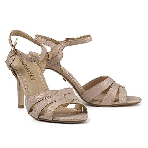 Buffalo Damen Sandaletten High (39, Heel Sandalen Pumps 314668 (39, High Rosa ... d57d69