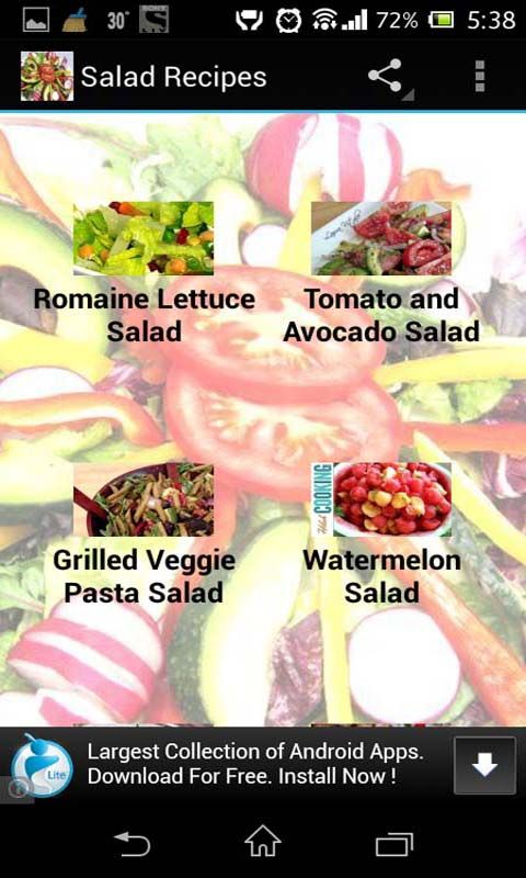 Amazon salad recipes collection of tasty video recipes amazon salad recipes collection of tasty video recipes appstore for android forumfinder Images