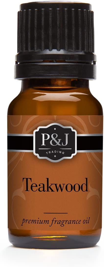 Teakwood Fragrance Oil - Premium Grade Scented Oil - 10ml