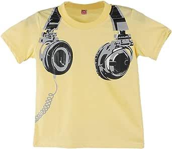 Camiseta Bebé, Xinantime Niño Niños Blusas Camiseta Camisetas Ropa Tops de manga corta para auriculares casuales de verano 1-6 años: Amazon.es: Ropa y accesorios
