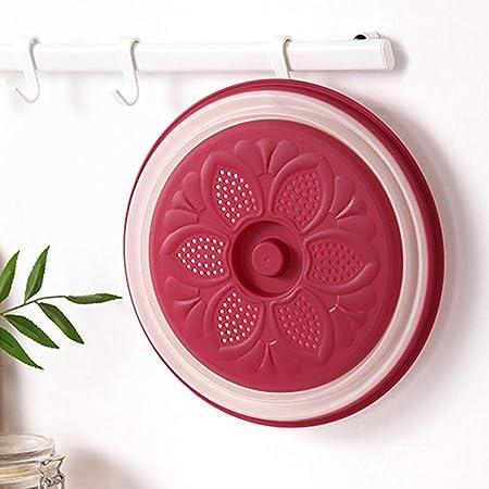 Tapa para microondas, tapa plana de plástico para microondas ...