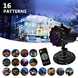 Tools & Hardware : LIFU Christmas Lights Projector - 2017 Upgrade Version 16 Patterns LED Projector Landscape lamp Remote Control and Waterproof Perfect for Halloween or Christmas