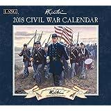 """Lang Wall Calendar """"Civil War"""" Artwork By Mort Kunstler-12 Month-Open 13 3/8"""" X 24"""""""