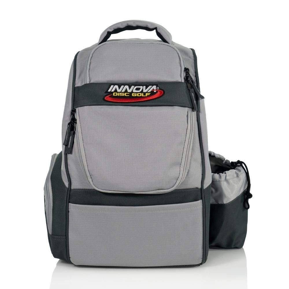 Innova Disc Golf Adventure Pack Backpack Disc Golf Bag - Gray by Innova Disc Golf