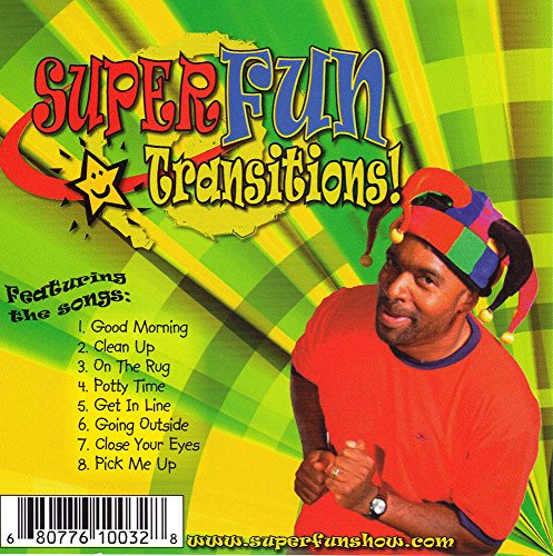 Role Model Productions RMP10032 Shawn Brown Super Fun Transitions CD (The Best Role Models)