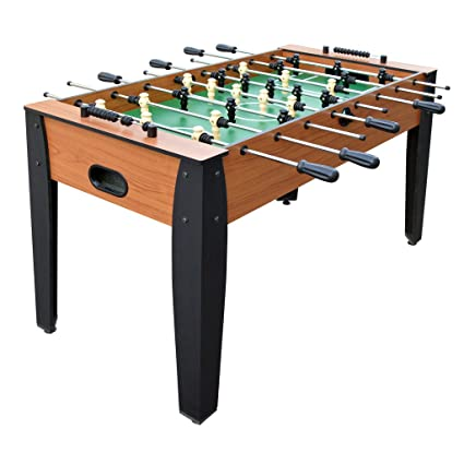 Amazoncom Hathaway Inch Hurricane Foosball Table For Family - Highland games foosball table