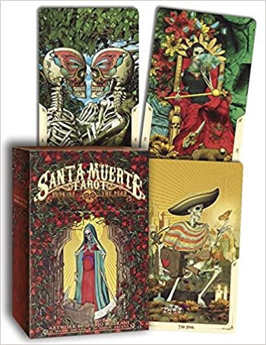 Santa Muerte Tarot Deck: Book of the Dead: Amazon.es: Fabio ...