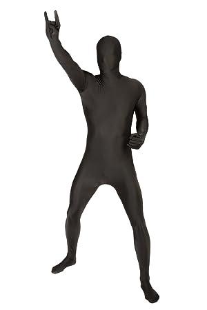 Morphsuits - Disfraz de segunda piel (pegado al cuerpo), Negro ...