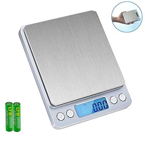 Digital Kitchen Scale Skyroku High Precision Food Scale Multifunction Digital Pocket Scale With Lcd Display 3kg 3kg